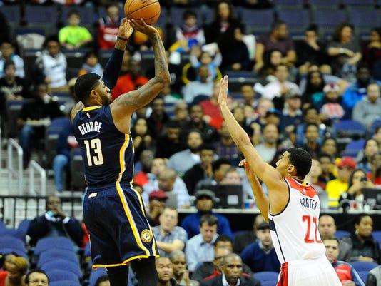 USP NBA: INDIANA PACERS AT WASHINGTON WIZARDS S BKN USA DC