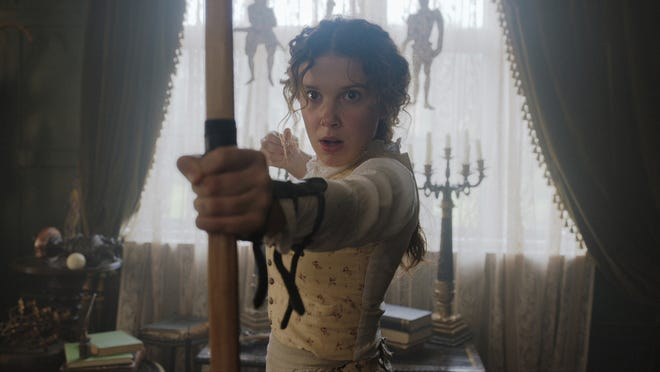 "Millie Bobby Brown stars in ""Enola Holmes."""