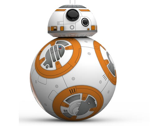Sphero's BB-8 app-enabled android.