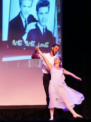 Performers dance during COPE's 2017 benefit concert.
