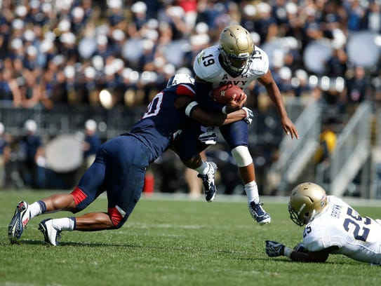 Connecticut safety Obi Melifonwu made 118 tackles and