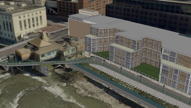 Morgan Management wants to develop at Court Street and South Avenue, behind Dinosaur Bar-B-Que.