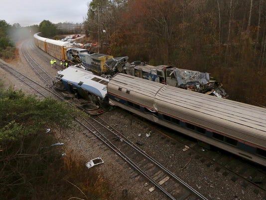 Train Crash South Carolina