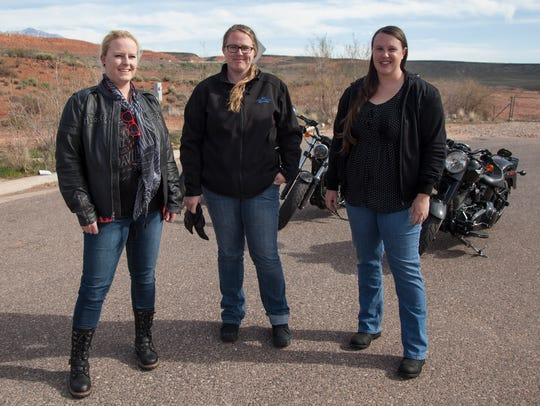 Members of the St. George branch of The Litas, an all-female