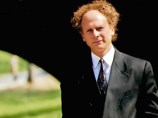 A youthful portrait of Art Garfunkel