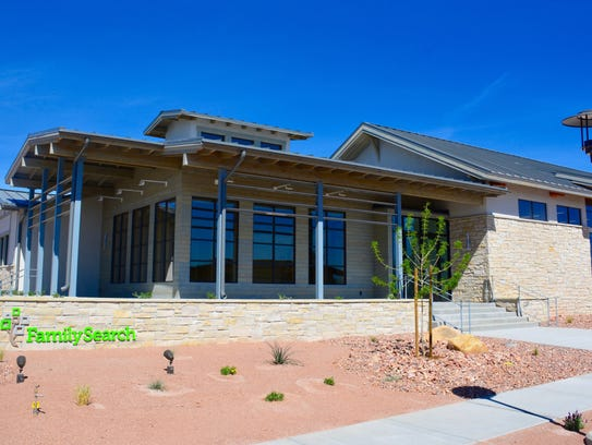 The St. George FamilySearch Center will open later