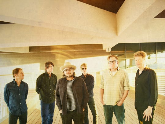 Wilco will perform June 13 at the Farm Bureau Insurance