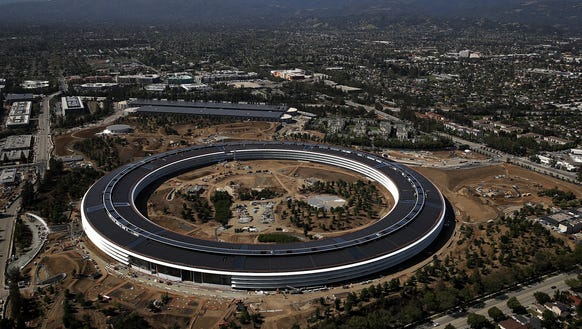 Apple park photos videos pop up on snapchat for House construction cost bay area