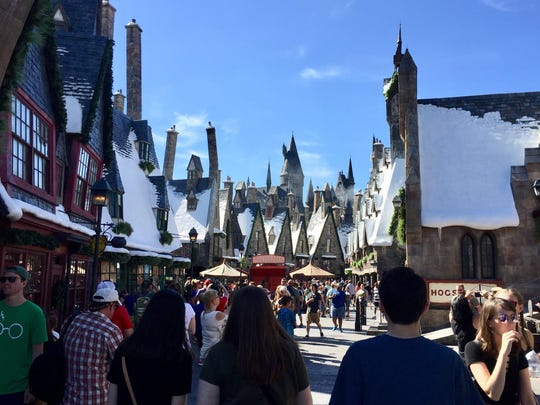 The world of Harry Potter comes alive at Universal Studios Orlando.