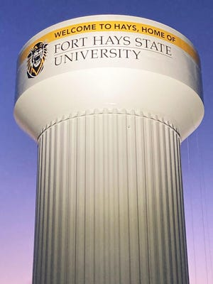 Tank of the Year winner and 11 runners-up will be announced Oct. 23. With voting open through Friday, the FHSU logo tower was in seventh place as of Tuesday morning, said Jeff Crispin, city of Hays water resources director.