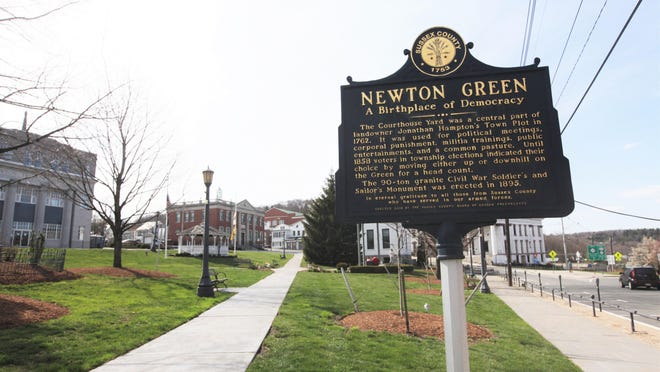 The Newton Green will be the site of a rally in support of police officers Saturday, Sept. 26.