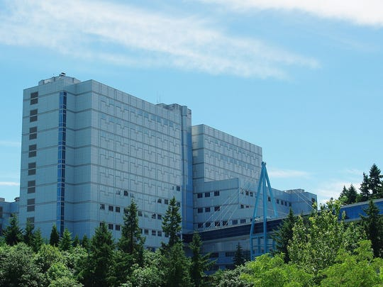 The Veterans Administration Hospital in Portland.