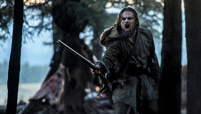 "Leonardo DiCaprio stars as legendary explorer Hugh Glass in ""The Revenant."""
