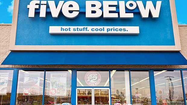 A Five Below store.