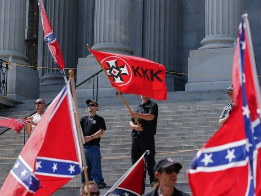 white supremacist rally