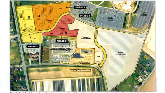 Rowan College at Gloucester County President Fred Keating has a three-phase vision for campus expansion in Deptford. The project is subject to a feasibility study launched this week.