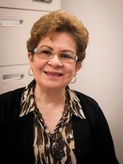 Eneida Dianderas, a retired ESL teacher at Henry Houck