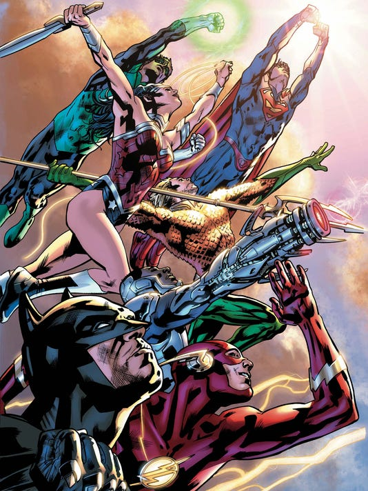 JLA' is 'deeply personal' for Bryan Hitch