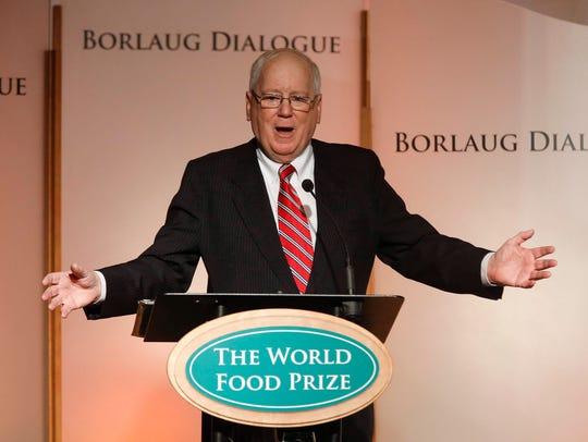Ambassador Kenneth Quinn, president of the World Food
