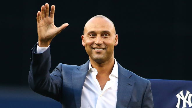 Jeter spent his entire 20-year career with the Yankees.