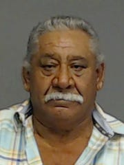 A mugshot of Israel Talamantez-Faz, who is charged with the possession and intent to distribute a quarter of a kilo of cocaine in San Angelo.
