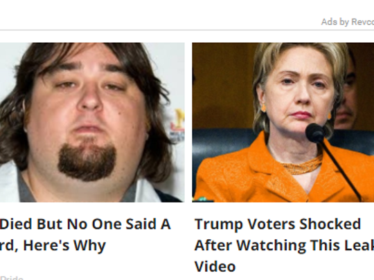 An example of a Revcontent ad. These are the most frequently