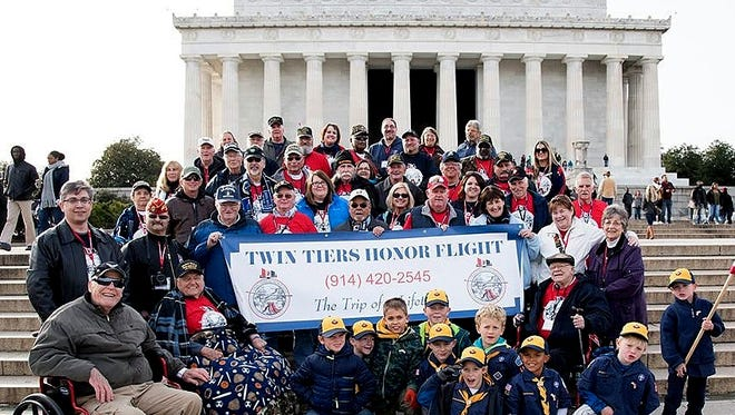 Twin Tiers Honor Flight is looking for about 60 area veterans to fly to Washington, D.C. in May.