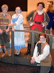 Vestal High School's cast of 'Beauty and the Beast'