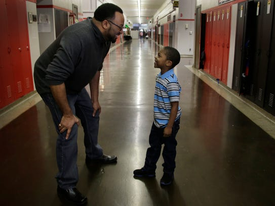 Detroit's Nolan Elementary and Middle School prinicipal