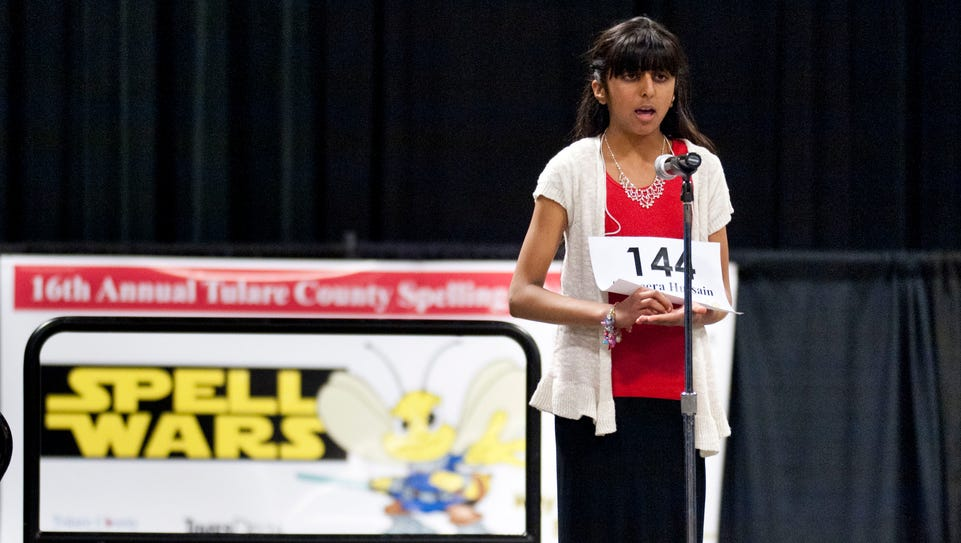 Sameera Hussain competes in the 16th Annual Tulare