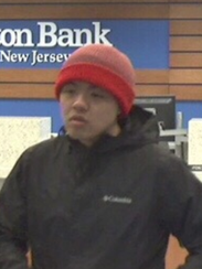Police are seeking this man in connection with a robbery