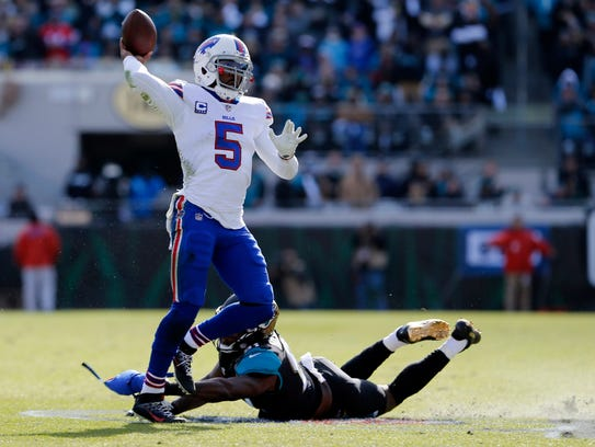The uncertainty at quarterback for the Bills is one reason why many observers think they'll take a step back in 2018.