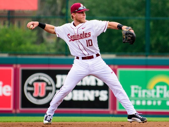 The Florida State baseball team has lost eight out