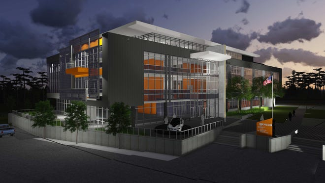 The new office space will be 82,000 square feet.