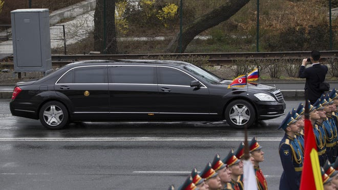 North Korean leader Kim Jong Un has raised eyebrows by using Mercedes stretch limousines at several very high-profile summits.