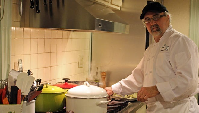 Michael Doud does the cooking at the Green Fountain Inn, which serves lunch and dinner. Hours are abbreviated.