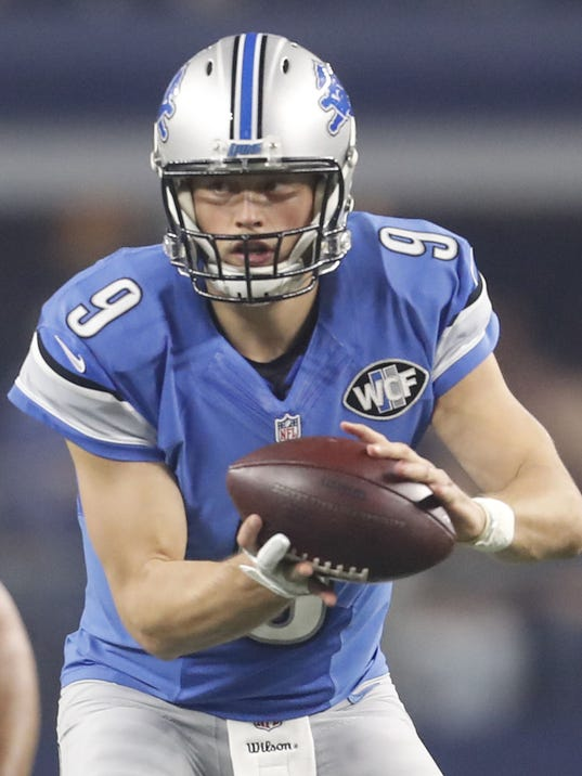 Lions QB Stafford: Carr, Cousins contracts don't matter to me