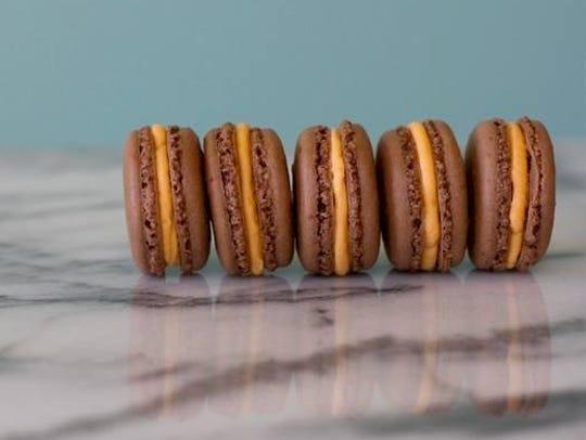 Macarons made by Adina St. John of The Blu Kitchen