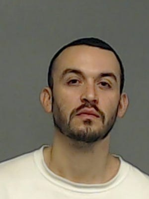 Raymond Alvarado Jr., 28, was extradited to the Tom Green County Jail from  the Ingham County Jail in Mason, Michigan,