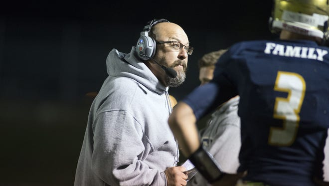 Roberson football coach Chris Deal has compiled an 8-16 record in two seasons.