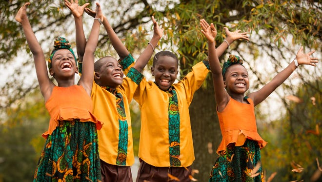 The African Children's Choir will perform Friday at Trinity Church.