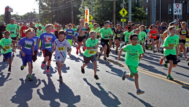 Clarksville Parks & Rec held its 38th annual Queen City Road Race Saturday. Younger competitors made up much of this year's field of more than 800 in the 5K/10K.