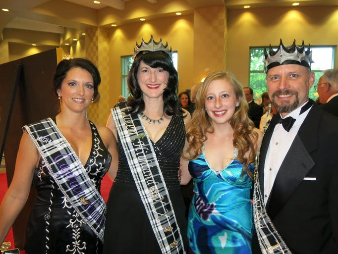 Krewe of Justinian Coronation was Friday at RiverView Hall.