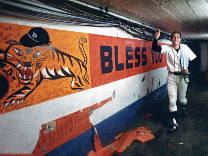 detroit tigers 1984 world series
