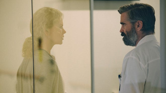 Nicole Kidman and Colin Farrell