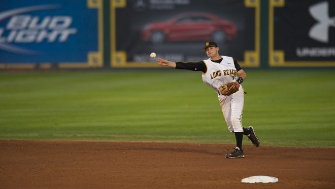 Garrett Hampson was the No. 81 pick of the MLB draft on Friday.