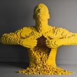 Timelapse: LEGO artist Nathan Sawaya creates 'Mask'