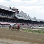Racing at Saratoga.