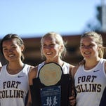 The Fort Collins High School girls cross country team won the Class 5A title in 2014.
