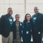 (L to R) Bjorn Simmons - Co Founder & Chief Strategy Officer, A'jae Livous - Operations Manager, Natasia Malaihollo - Co Founder & Chief Executive Officer, Stedmon Harper - Co Founder & Chief Creative Officer
